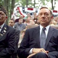 "Some real members of Congress from California are urging the state to put more money into competing for productions like the Netflix show ""House Of Cards,"" starring Kevin Spacey."