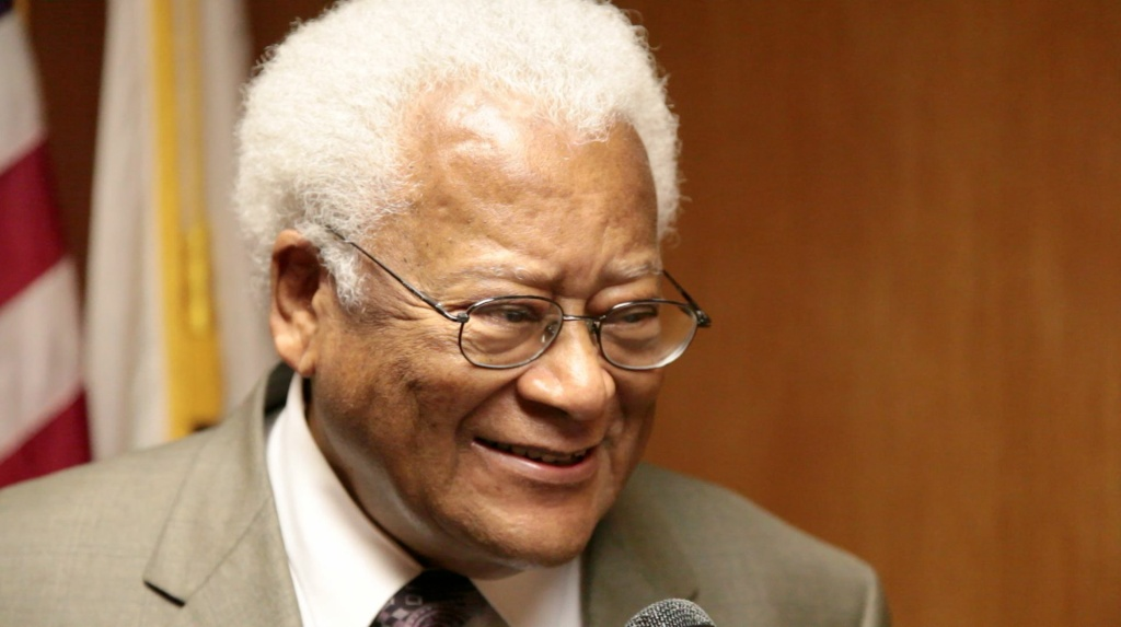 James Lawson worked closely with Martin Luther King Junior.