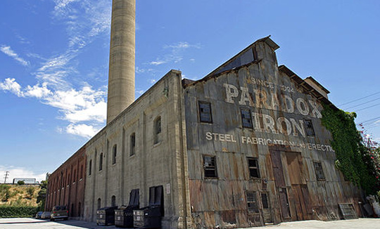 LA's former Pabst Blue Ribbon factory was converted into an artist community in 1982.