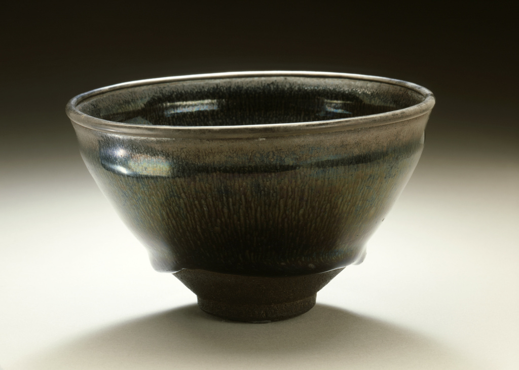 Tea Bowl (Chawan) with Hare's Fur Pattern, China, Southern Song dynasty, 1127–1279, Los Angeles County Museum of Art, Mr. and Mrs. Allan C. Balch Collection, photo © Museum Associates/LACMA