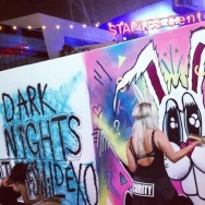 Dark Nights at L.A. Live in June 2016.