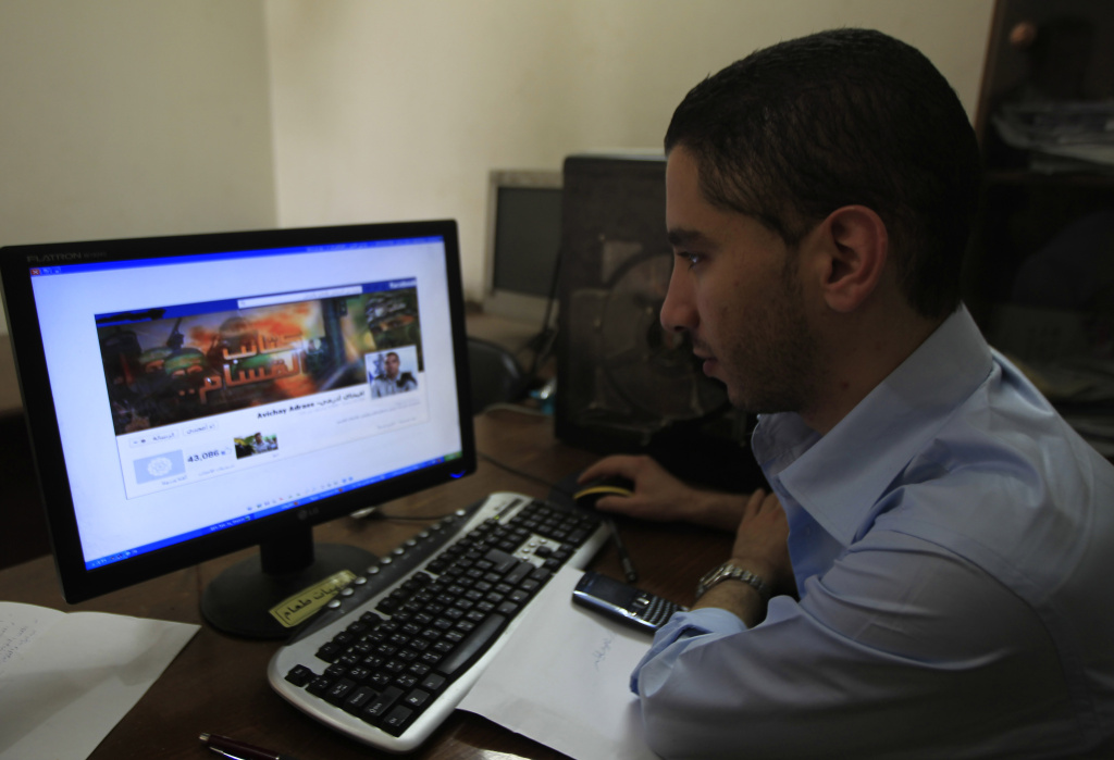 A different social media war is being waged online between Israel and Hamas. .