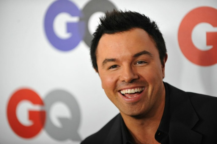 Writer/Actor Seth McFarlane arrives for