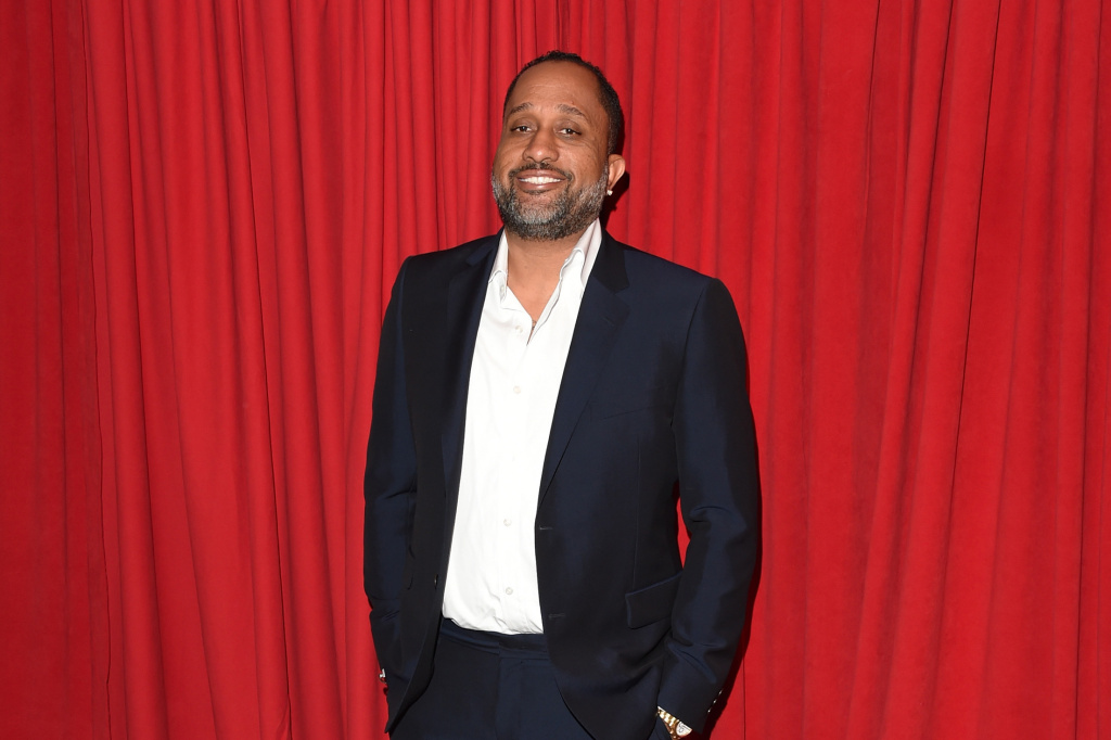 BEVERLY HILLS, CA - JANUARY 08: Writer/producer Kenya Barris attends the 16th Annual AFI Awards at Four Seasons Hotel Los Angeles at Beverly Hills on January 8, 2016 in Beverly Hills, California.  (Photo by Jason Merritt/Getty Images)