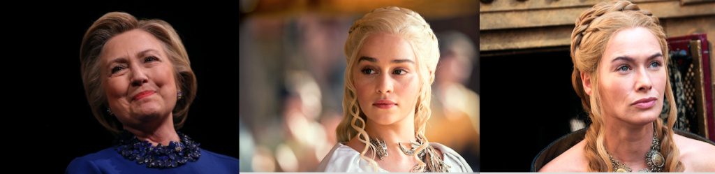 Professor Stephen Dyson compares presidential candidate Hillary Clinton to Game of Thrones characters Daenarys Targaryen and Cersei Lannister.