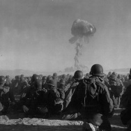 US Army Watches Atomic Blast