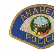 anaheim police patch