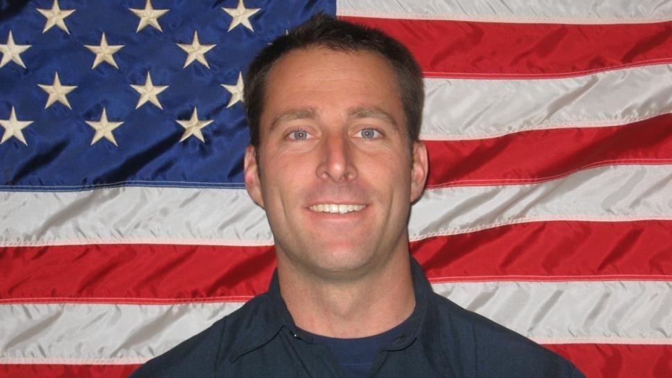 Missing firefighter Mike Herdman, 36, of Dana Point.