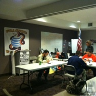 Union members run elections phone bank to defeat Prop 32