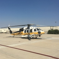 LA County Fire Department Fire Hawk, currently part of the aerial firefighting fleet.