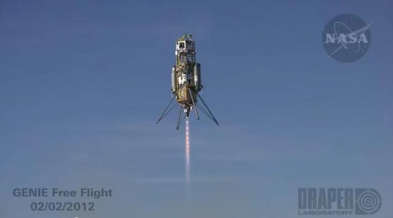 Xombie rocket test.