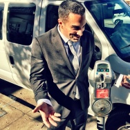 Assemblyman Mike Gatto at a parking meter in Toluca Lake on Thursday, January 21, 2016.