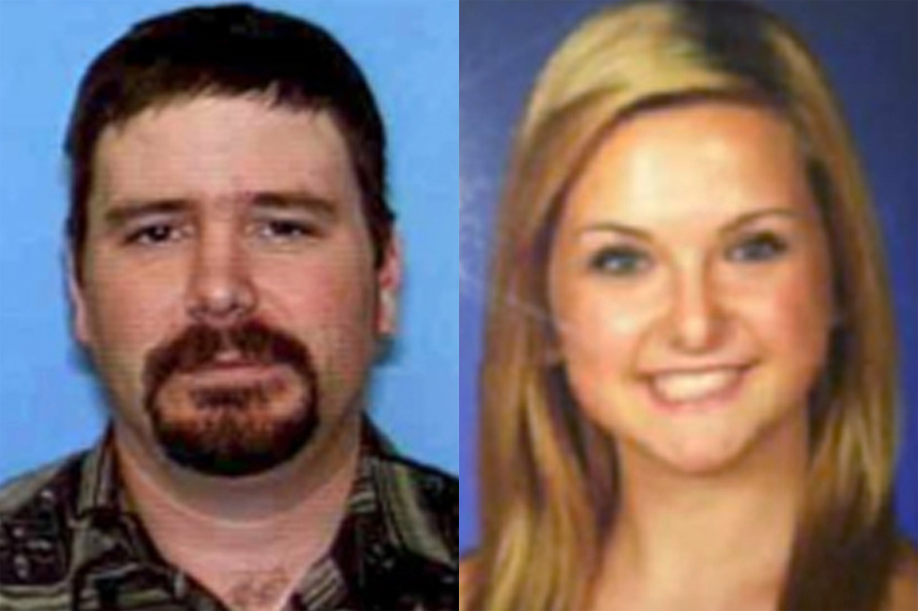 This combination of undated file photos provided by the San Diego Sheriff's Department shows James Lee DiMaggio, 40, left, and Hannah Anderson, 16.
