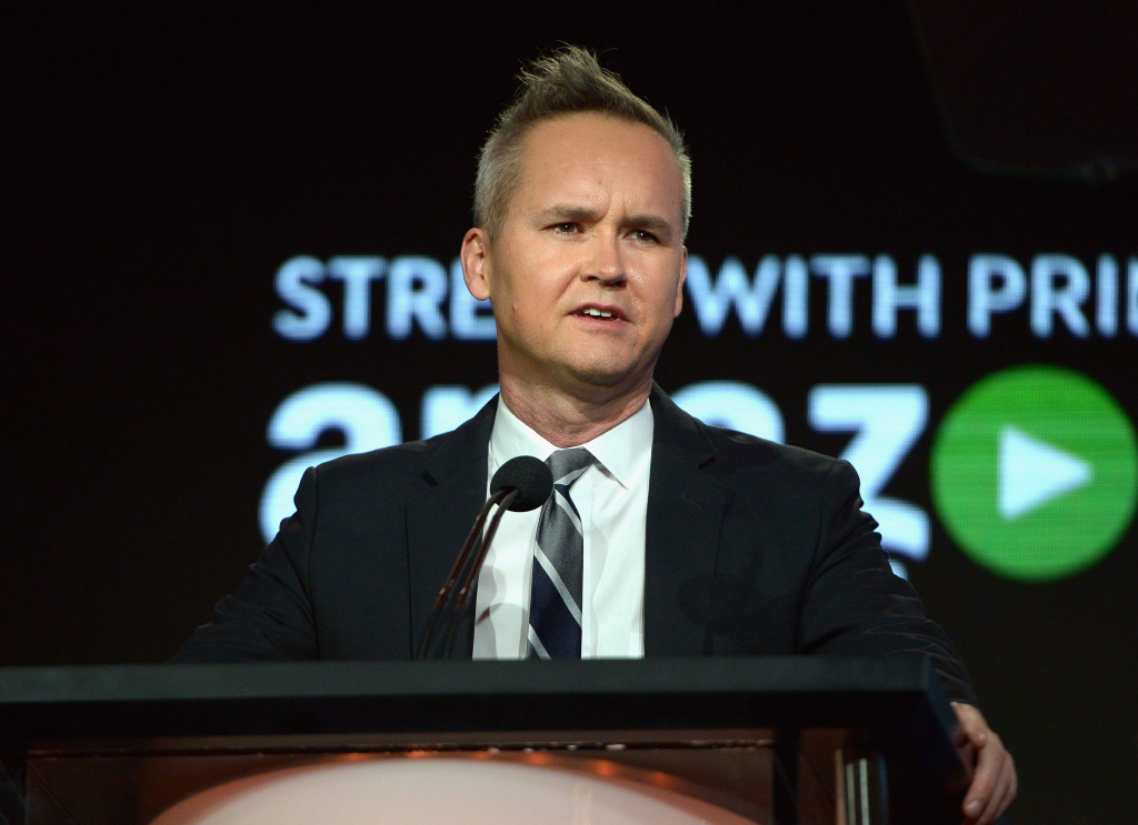 Head of Amazon Studios, Roy Price speaks onstage during the Amazon Winter TCA Session at Langham Hotel in Pasadena, California, in this January 11, 2016 file photo. Price was suspended last week after producer Isa Hackett, who works on the Amazon series