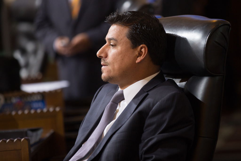 L.A. City Councilman Jose Huizar has formally responded to allegations he sexually harassed a former staffer.