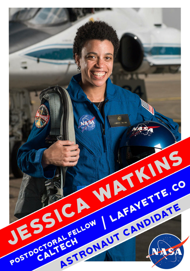 NASA Astronaut Candidate, Jessica Watkins.