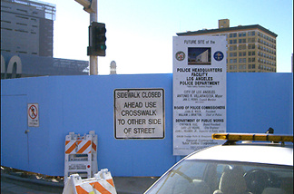 Between the LA Times and City Hall, the LAPD is building itself a new headquarters. Will it really be a friendly edifice?