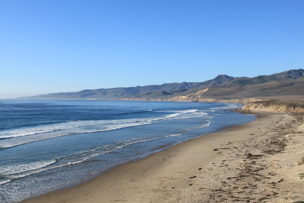 Remote Jalama Beach, pictured here in a stock image.