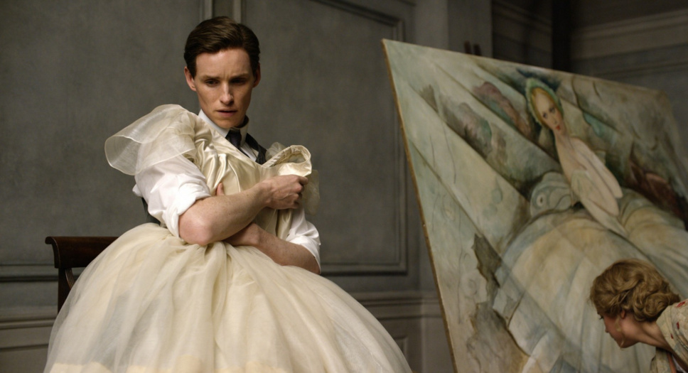 Eddie Redmayne plays Lili Elbe, one of the first people to have gender reassignment surgery, in the film,