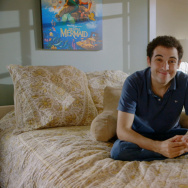 """Owen Suskind in a scene from the documentary about his life called """"Life, Animated."""""""