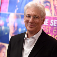 "Actor Richard Gere attends ""The Second Best Exotic Marigold Hotel"" New York Premiere at the Ziegfeld Theater on March 3, 2015 in New York City."
