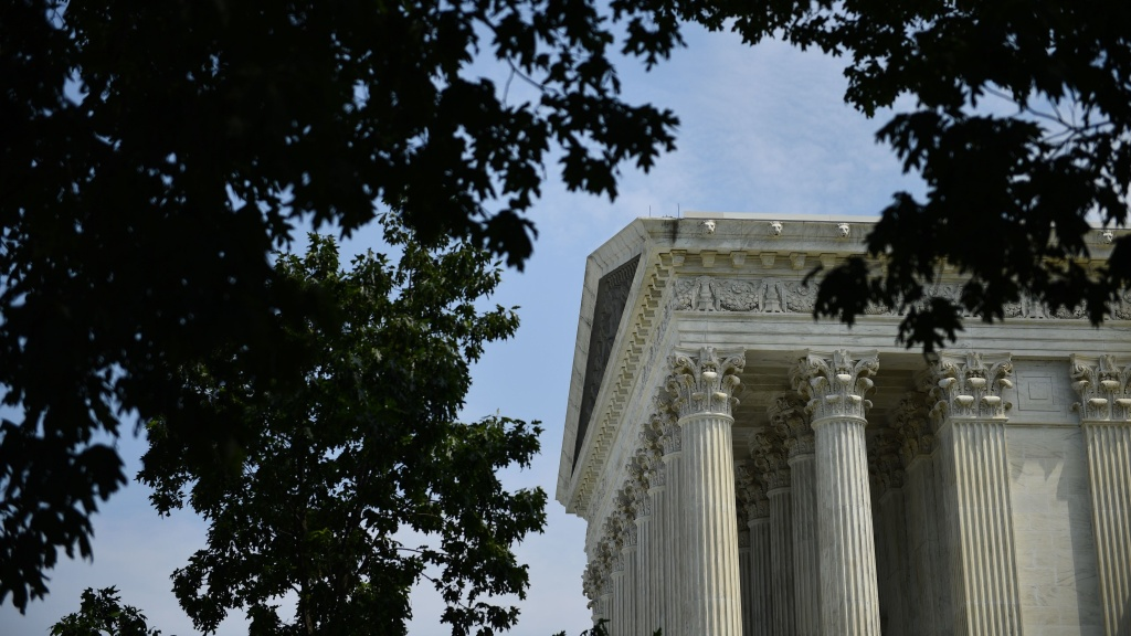 The Supreme Court ruled Thursday that about half of the land in Oklahoma is within an Indian reservation as stated in treaties.