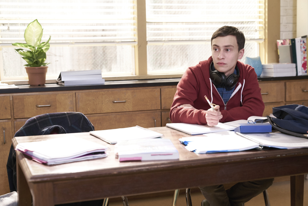 Keir Gilchrist plays Sam, a high schooler who has autism, in Netflix's new series <a href=