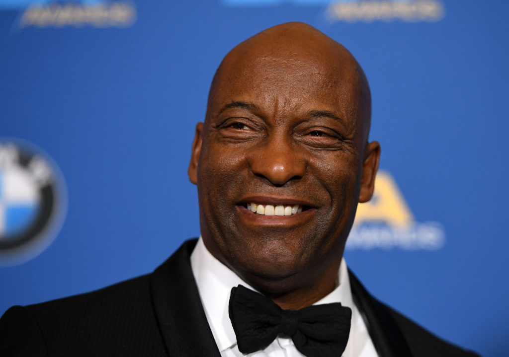 Director John Singleton attends the press room at the 2018 DGA Awards at the Beverly Hilton.