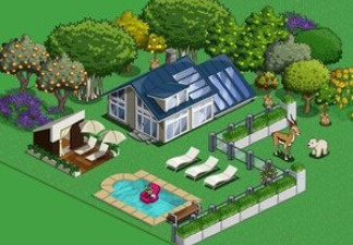 An image from the popular online game Farmville.