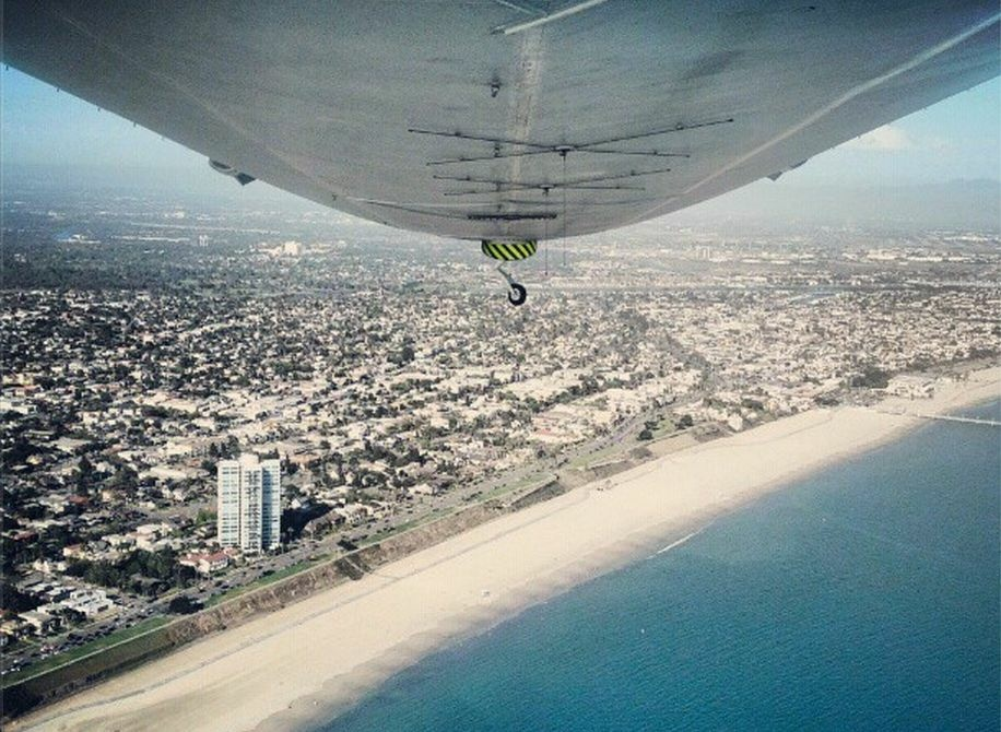 Airship Ventures flies tourists over L.A. in the Eureka Zeppelin. The company announced this week it has grounded operations due to a ten-fold increase in the price of helium and lack of long-term sponsor.