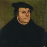 Lucas Cranach the Elder (Workshop of), Portrait of Martin Luther, 1532