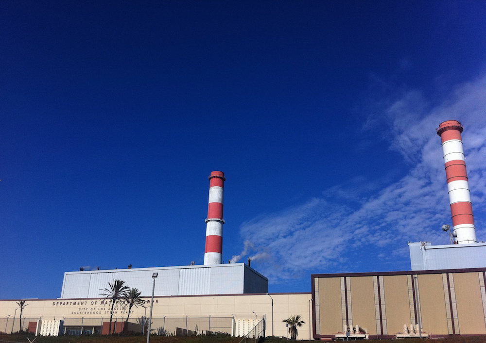 LADWP's Scattergood Power Plant.
