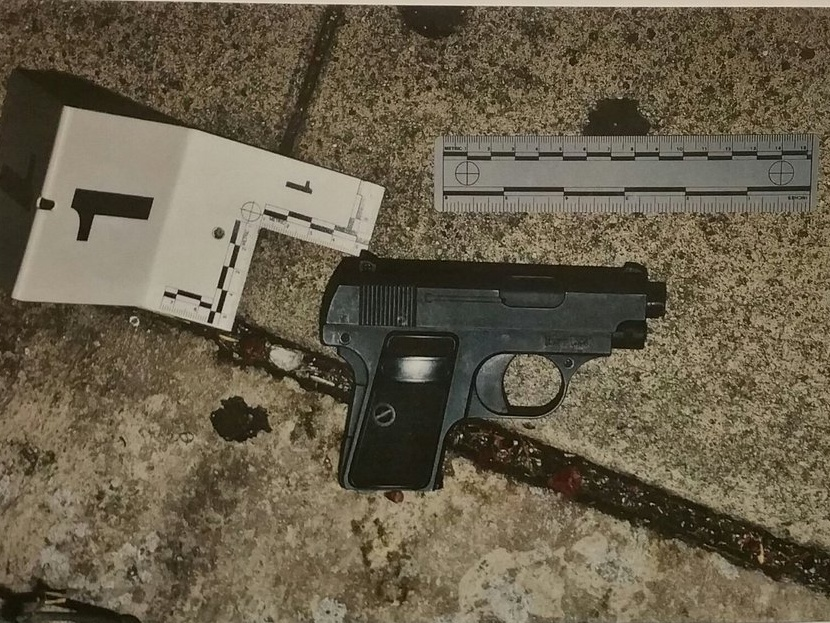 A replica gun was recovered at the scene of a fatal officer involved shooting in South L.A., police said Monday.