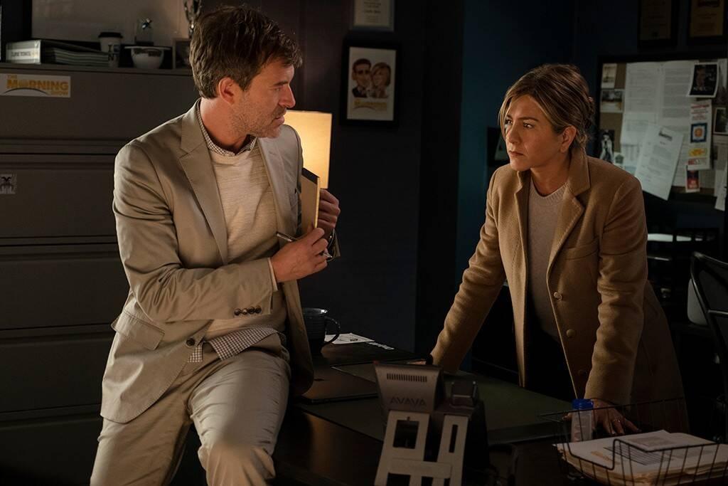 Mark Duplass plays Jennifer Aniston's executive producer on Apple TV's