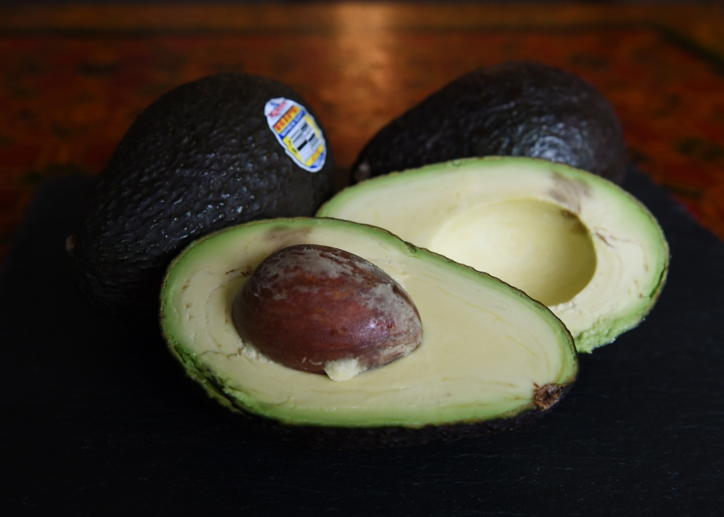 Hass avocados in Los Angeles, California on January 22, 2015.