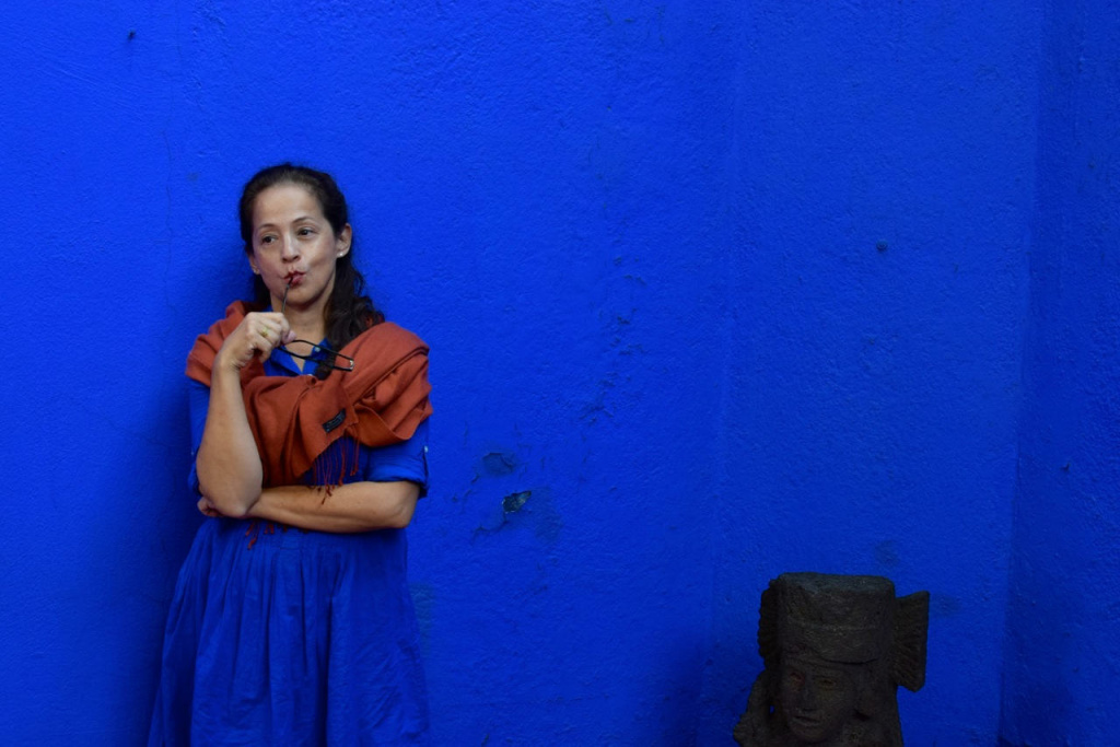 Perla Batalla and her songwriting partner David Batteau wrote the music to a new stage show about Frida Kahlo called