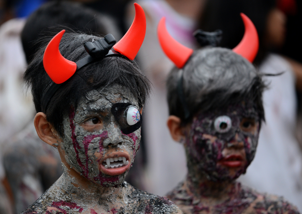 Are costumes too gory for kids?