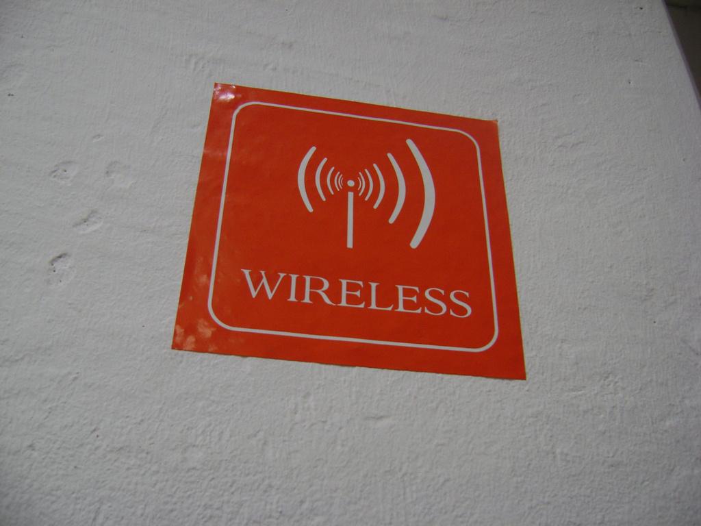 A truly inhuman WiFi hot spot.