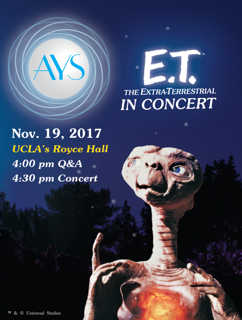 American Youth Symphony - E.T. The Extra-Terrestrial In Concert