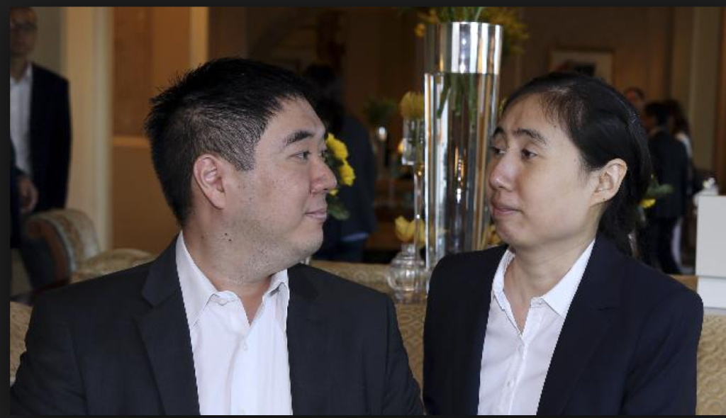 Nearly two years after the death of their adopted daughter in Qatar, Matthew and Grace Huang are free to leave the country.