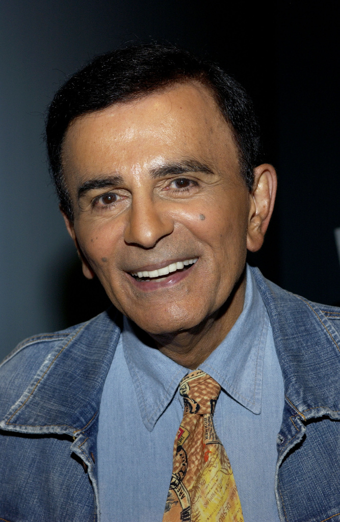 In this file photo, radio personality Casey Kasem arrives at the Golden Dads Awards ceremony at the Peterson Automotive Museum on June 15, 2005 in Los Angeles, California.