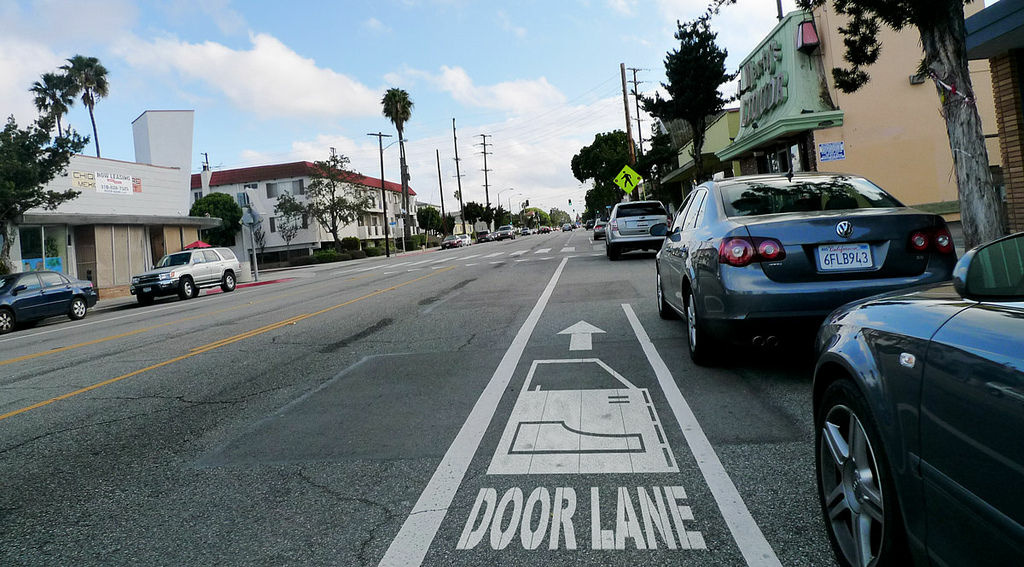 Santa Monica is a bicycle-friendly town.