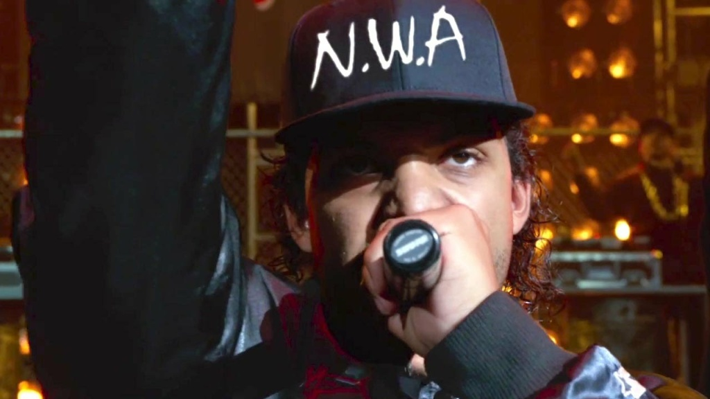 Still from the upcoming N.W.A. bio pic