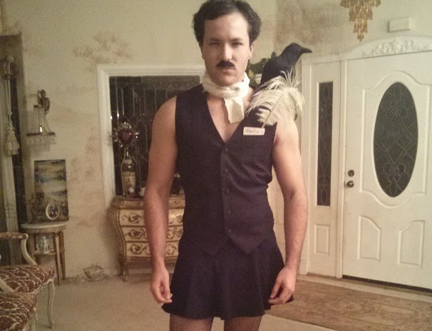 Edgar Allan Ho is one of Amy Alkon's favorite costumes.
