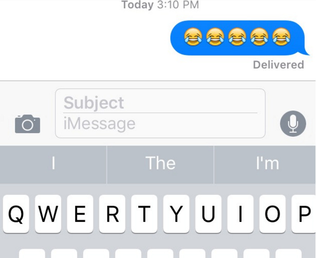 The laugh til you cry emoji