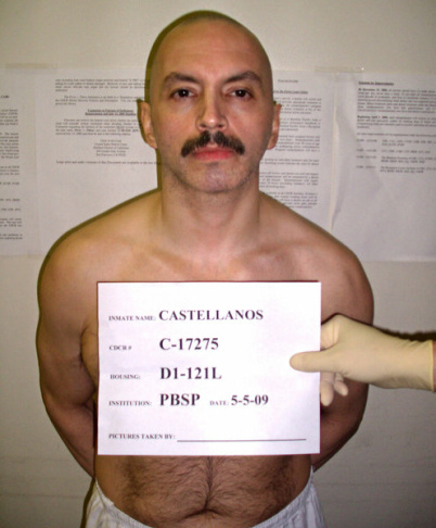 Mexican Mafia member Arturo Castellanos, on May 5, 2009.