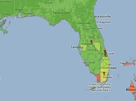 Dengue fever cases have cropped up in southern Florida.