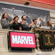 """Captain America: The Winter Soldier"" Rings The NYSE Opening Bell"