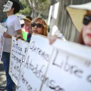 Michoacan protest