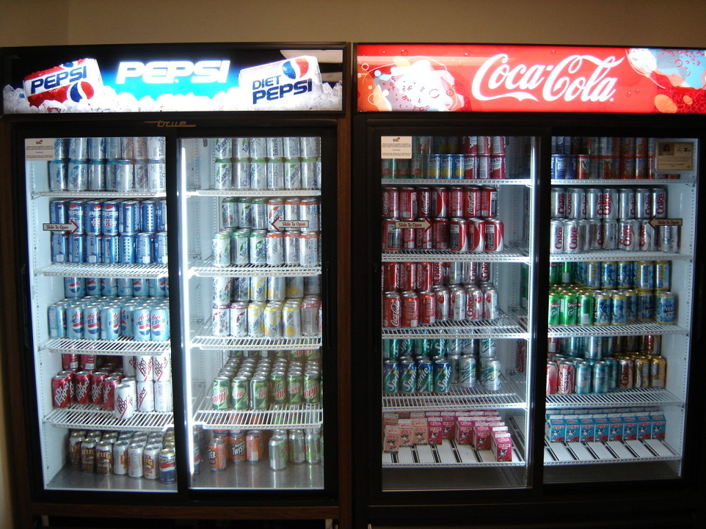 File photo: If the bill passes, California would become the first state to require warning labels on sodas and other sugary drinks.